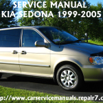 KIA Sedona 1995-1996-1997-1998-1999-2000 Factory Service Manual