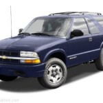 Body Repair Manual Chevrolet Blazer 1996 1997 1998 1999 2000 2001 2002 2003