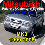 service repair manual for Mitsubishi Montero Pajero Shogun 2000 2001 2002 2003 2005 V6