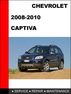 2006-2010 Chevrolet Captiva 2.4L 3.6L Workshop Service Repair Manual Download