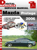 Mazda Protege 2006 Workshop Service Repair Manual Download
