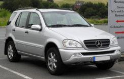 Mercedes Benz ML W163 2002-2005 Workshop Service Auto Repair Manual